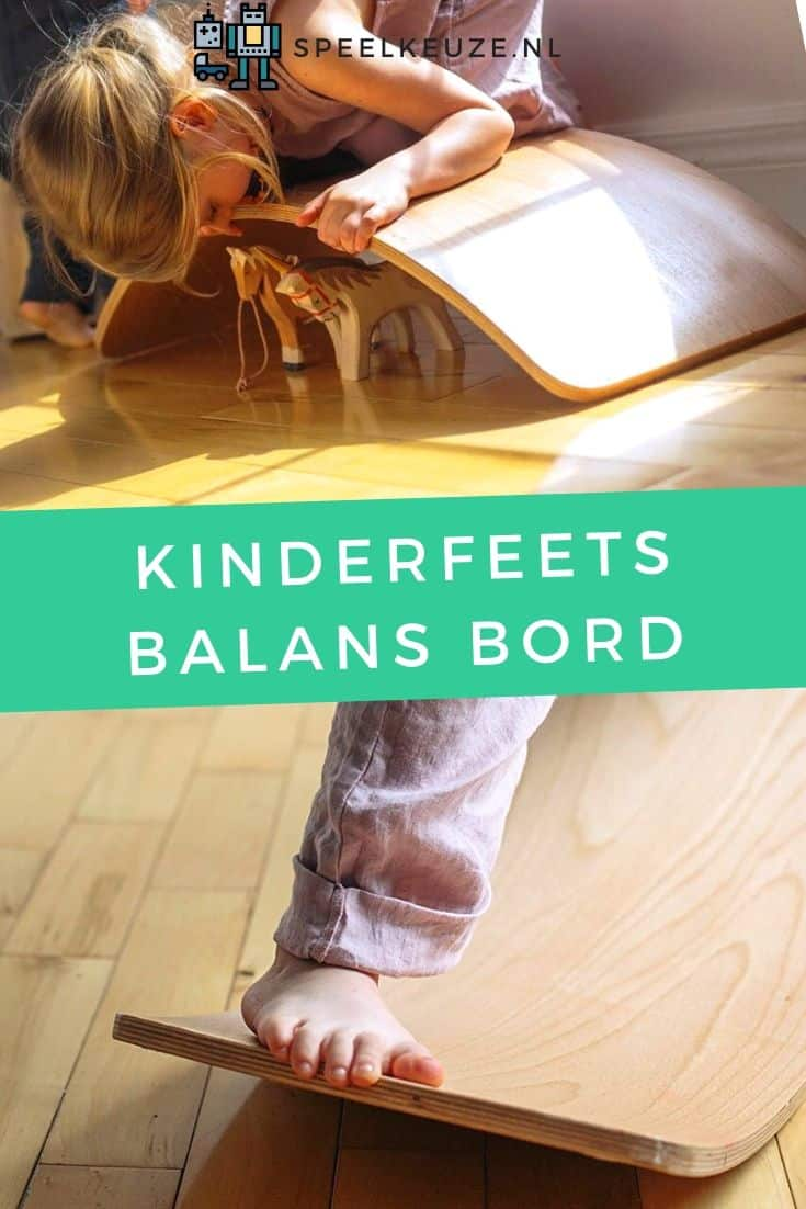 Photo of girl doing different tricks on the Kinderfeets balance board
