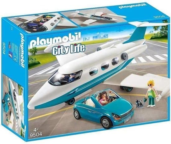 Best convertible toy car: PLAYMOBIL City Life Private jet with convertible