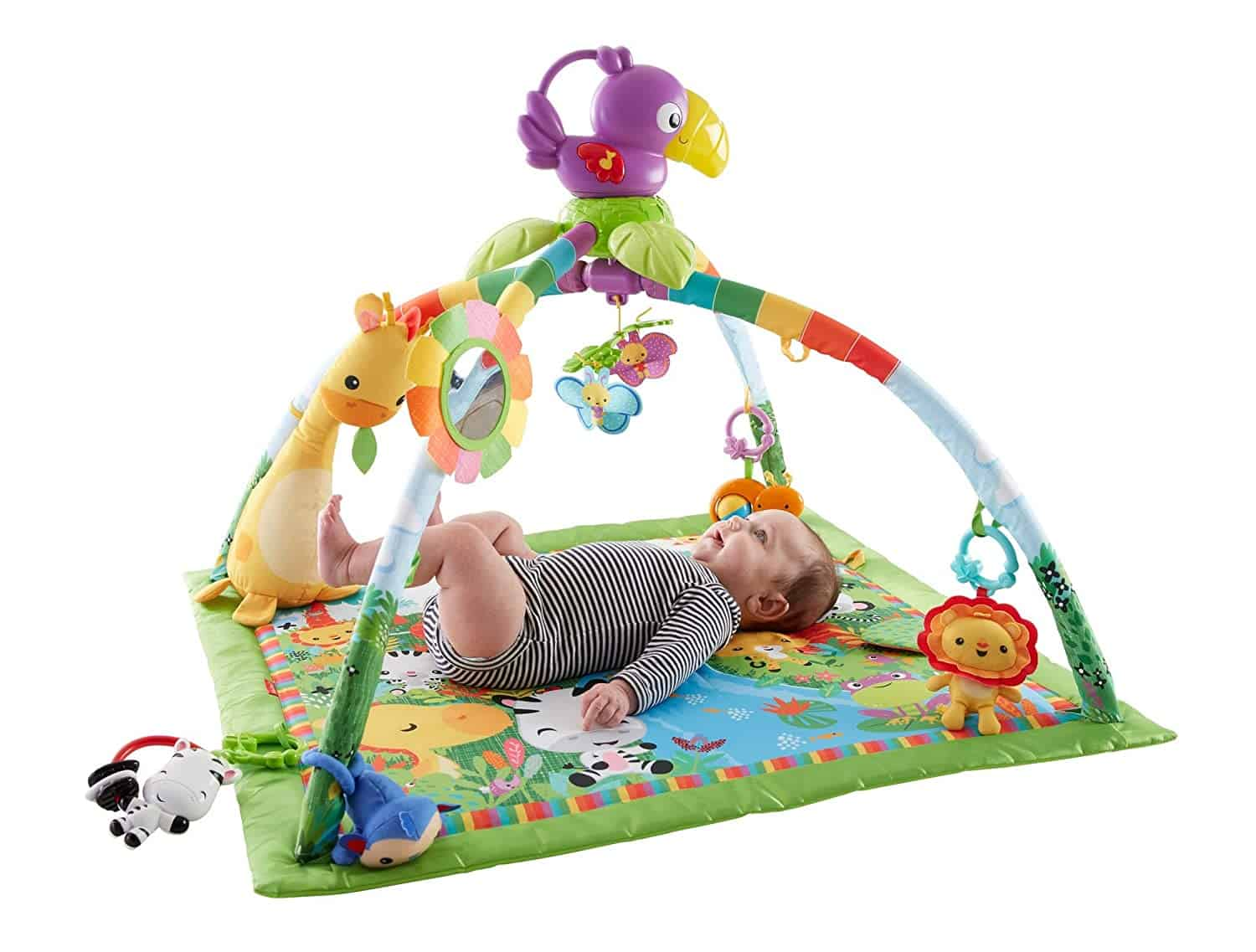 Leukste jungle babygym: Fisher-Price Rainforest Speeldeken