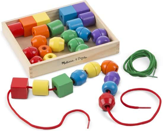 Beading beads from Melissa and Doug