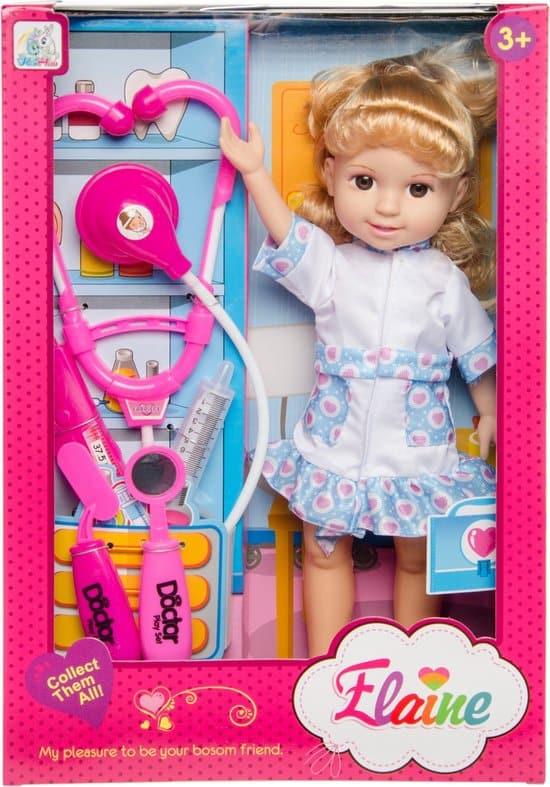 Beste dokerset pop: LG-Imports tienerpop dokter Elaine