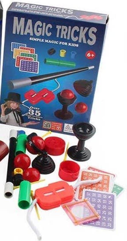 Beste goocheldoos voor kind van zes jaar: Venjoy 35 magische trucs