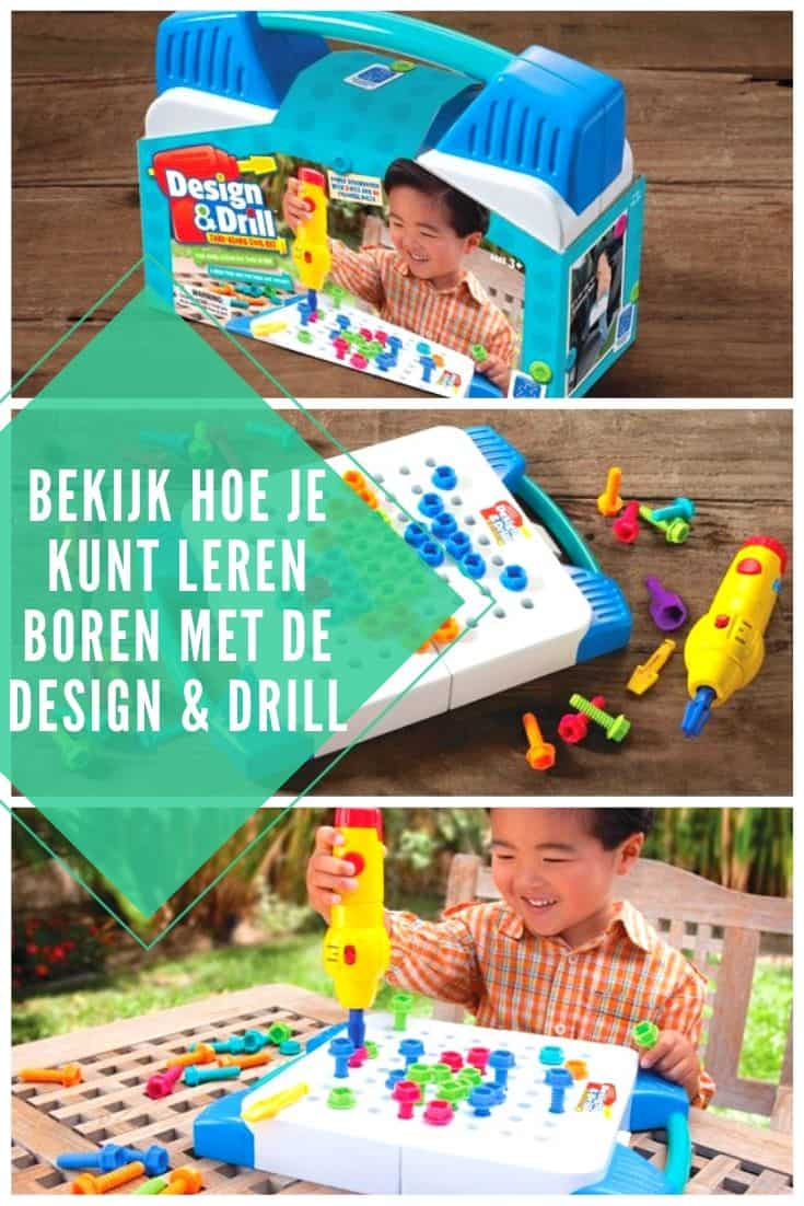 Leren boren met Learning Resources Design & Drill
