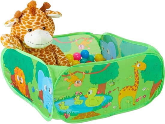 Leukste ballenbak voor je baby: Relaxdays Pop Up Jungle