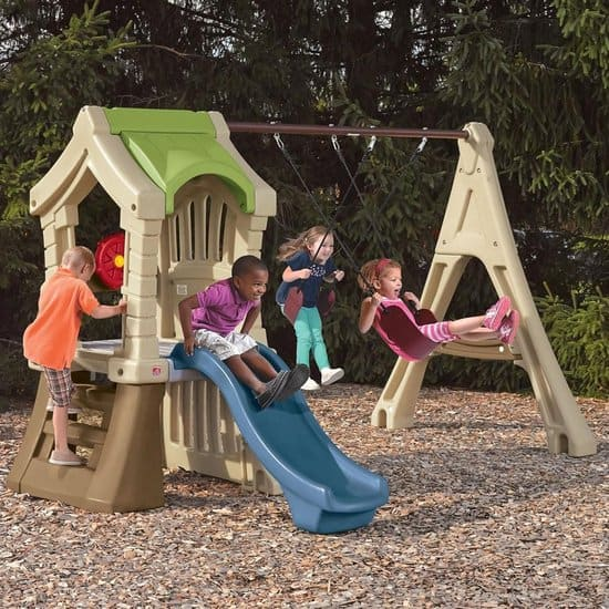 Best playhouse with swing Step2 Play Up Gym Set