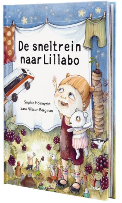 Reading book: The express train to Lillabo