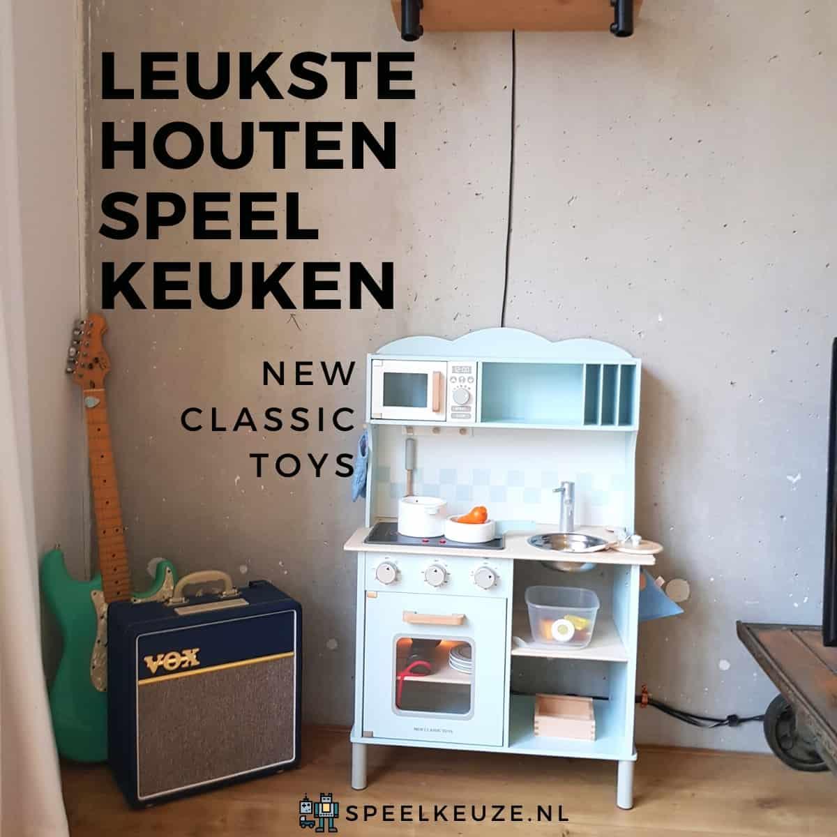 Beste houten speelkeuken: New Classic Toys Bon Appetit