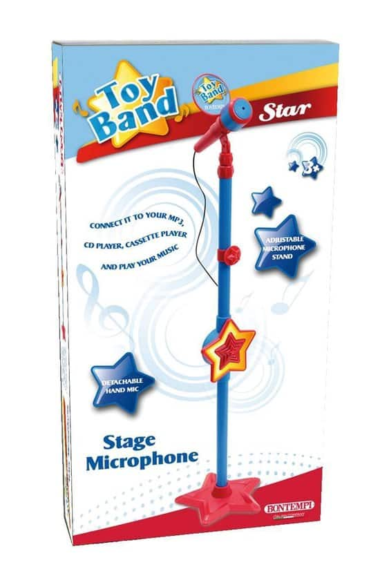 Best on stand: Bontempi Microphone Karaoke With Stand