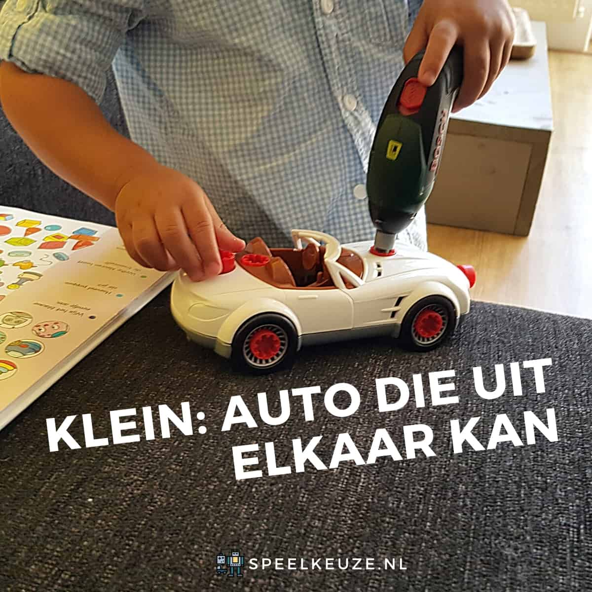 Small car that can be taken apart