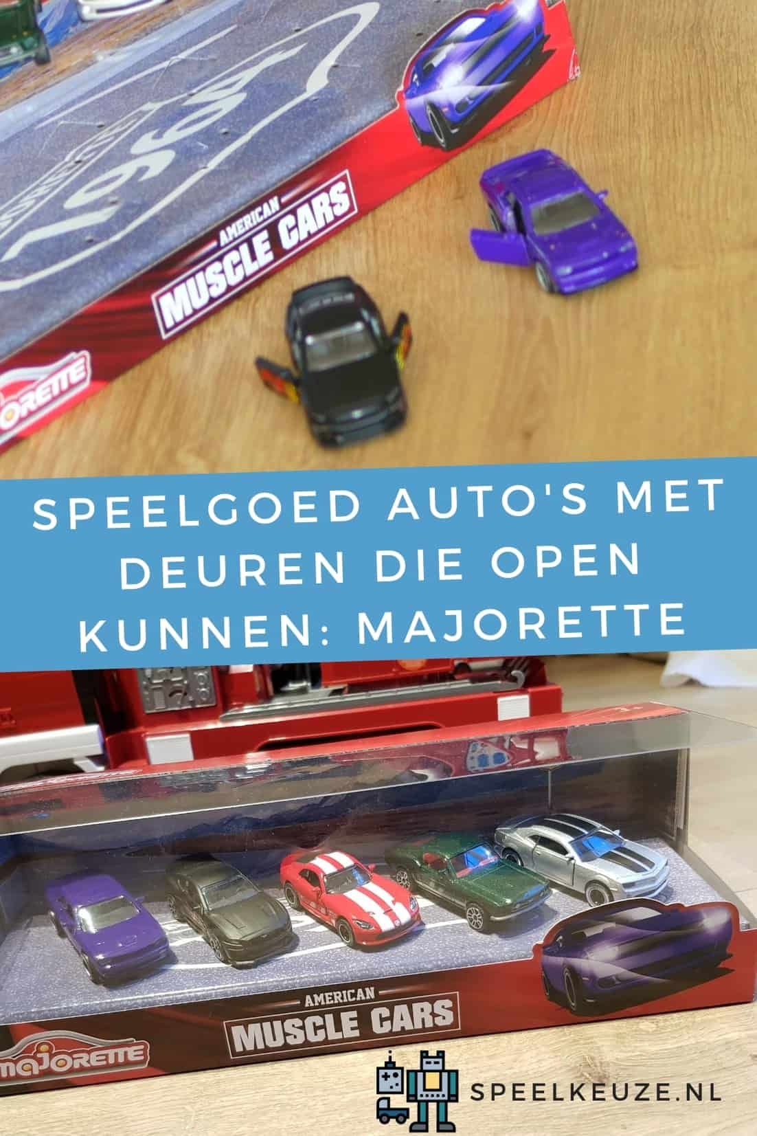 Toy cars with opening doors: Majorette