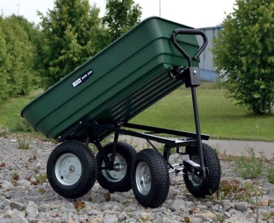 Best large wagon: Güde wagon with tipping function