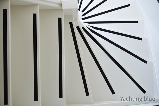 Yachting Blue anti-slip profile for the stairs