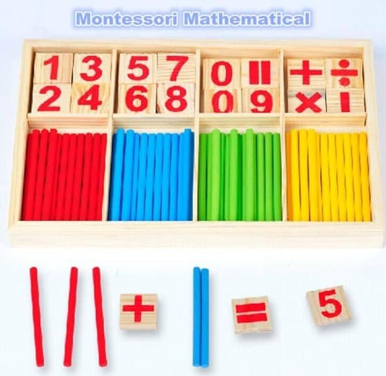 Best Durable Educational Toy - Montessori Math Toys