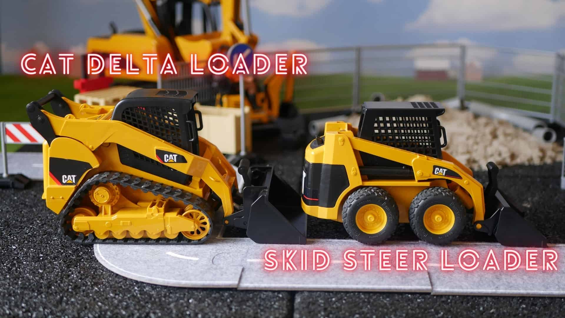 Cat delta loader vs skid steer loader