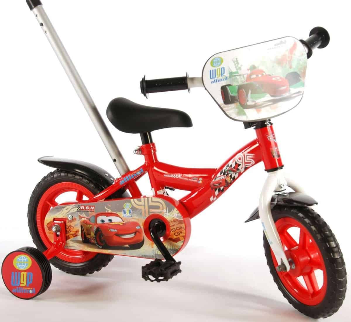 Best Kids Bicycle with Push Bar: Volare Disney Cars