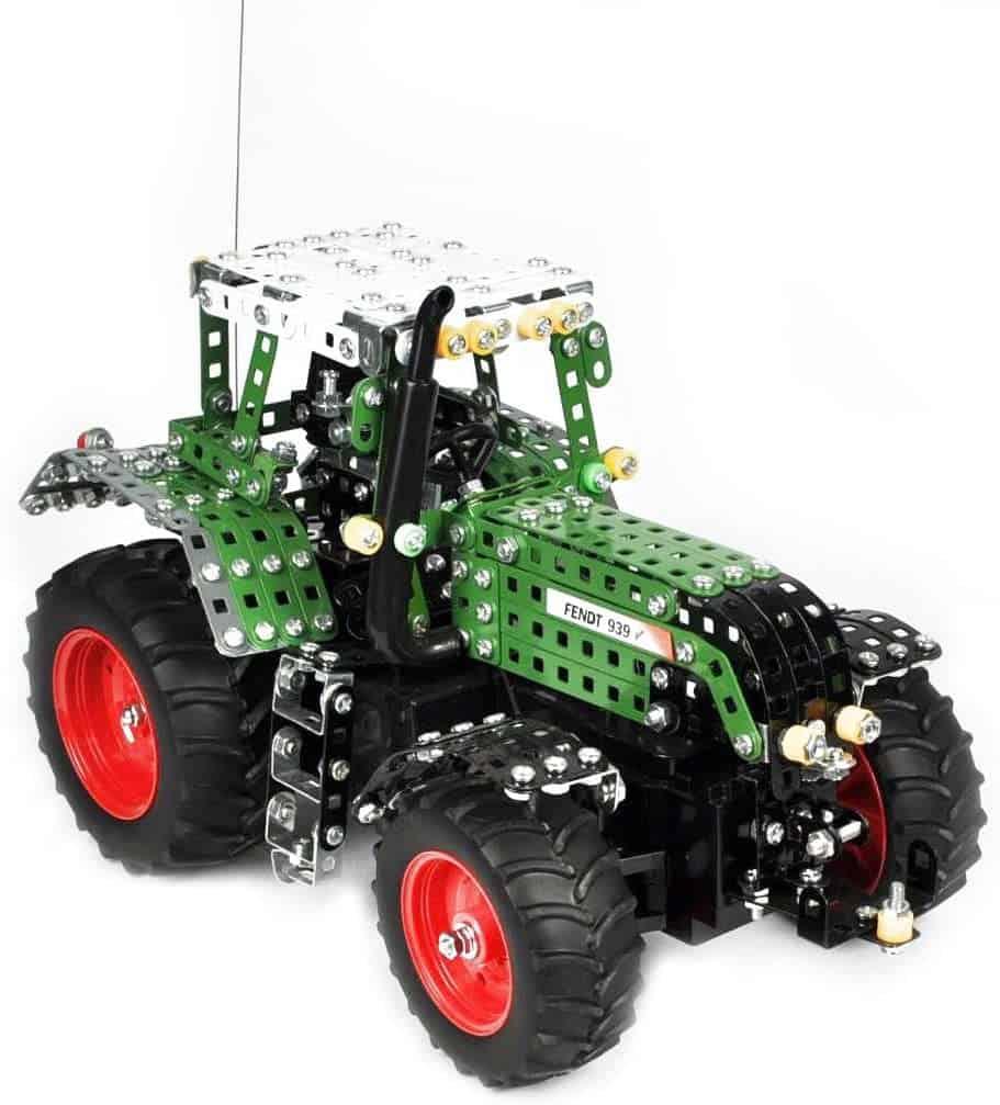Beste zelfbouw Bruder alternatief: Tronico metalen bouwkast tractor