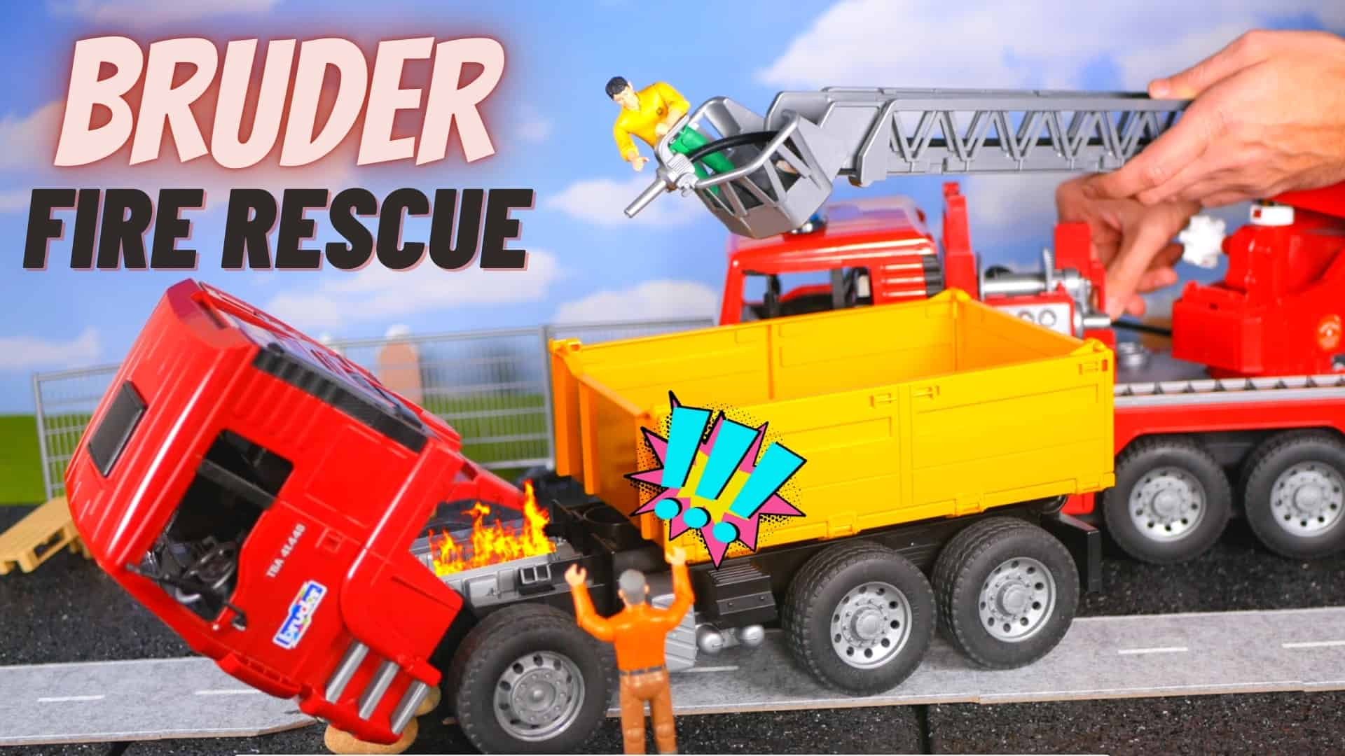 Bruder fire rescue emergency services