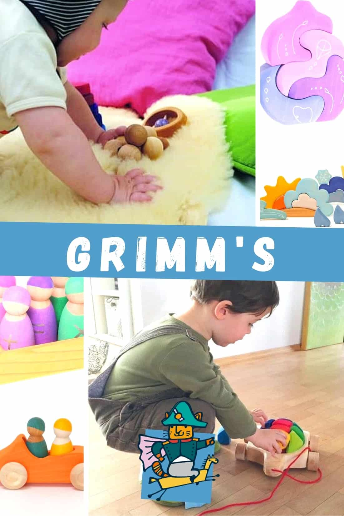 Grimms wooden toys