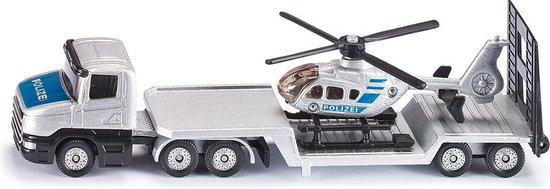 Kleiner Bruder alternatief 2: SIKU Dieplader met Helikopter