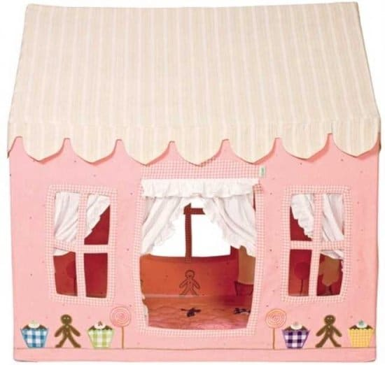 Cutest Pink Playhouse: Win Green Gingerbread Cottage