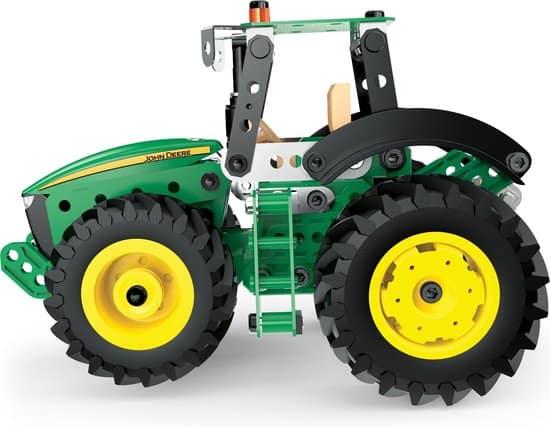 Stevigste Bruder alternatief:Meccano John Deere tractor 8RT bouwset
