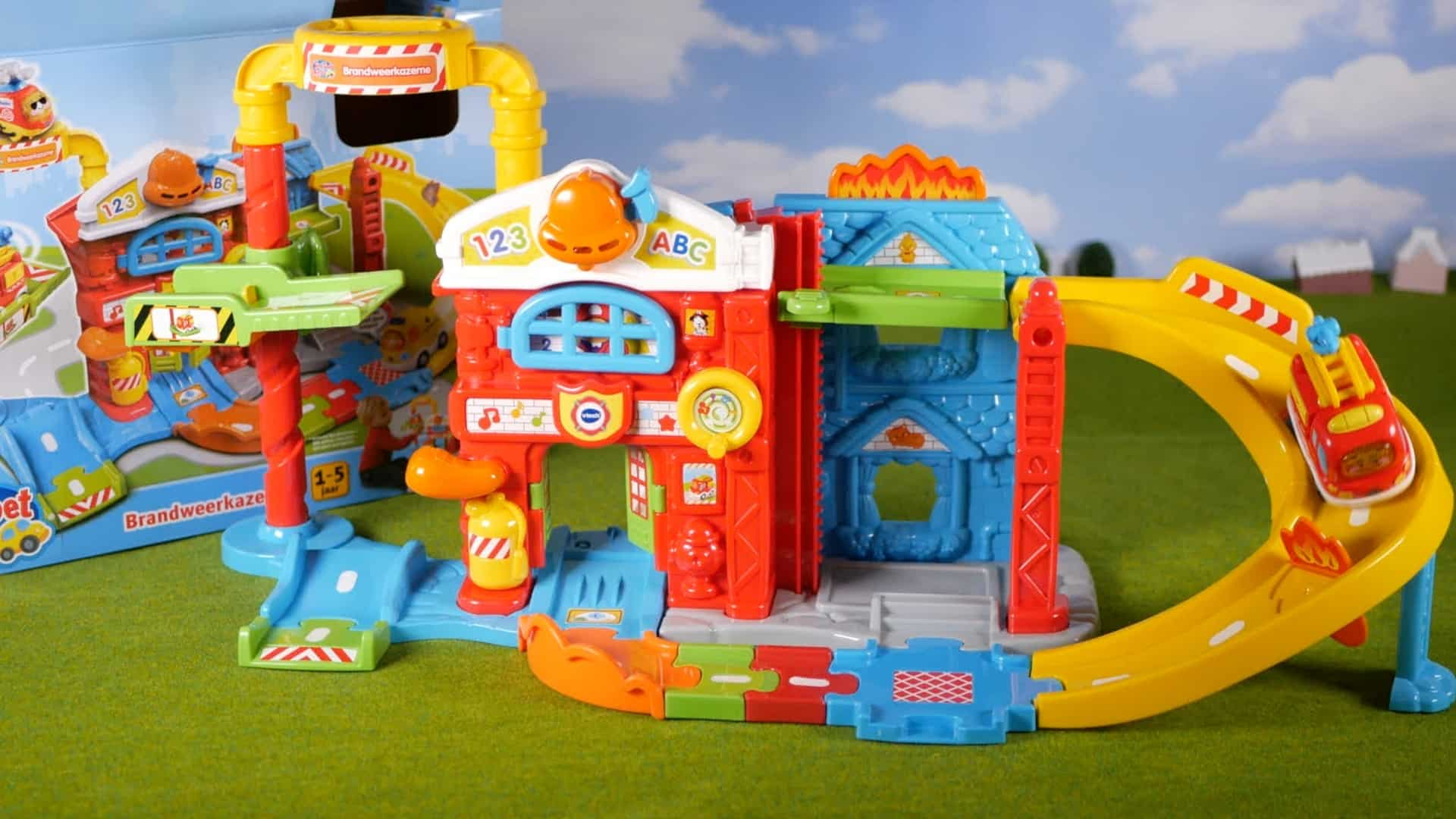 Vtech Toet Toet Cars Save The Day Fire Station