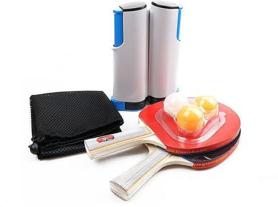 Best table tennis net set for the kitchen table: ByDennis