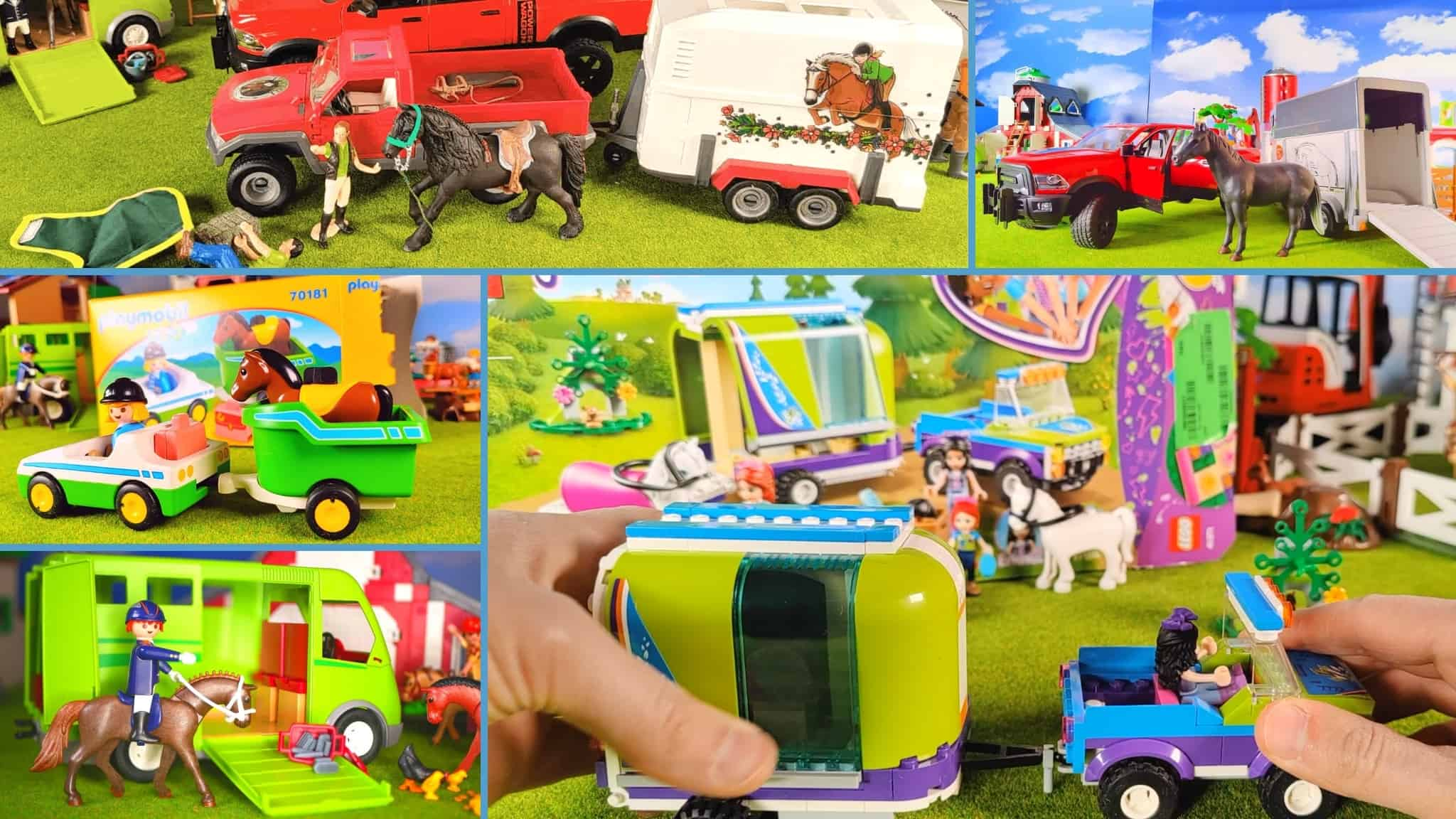 Best toy horse trailer rated
