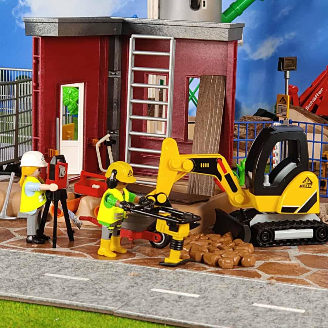 Best excavator set PLAYMOBIL City Action Mini 70443
