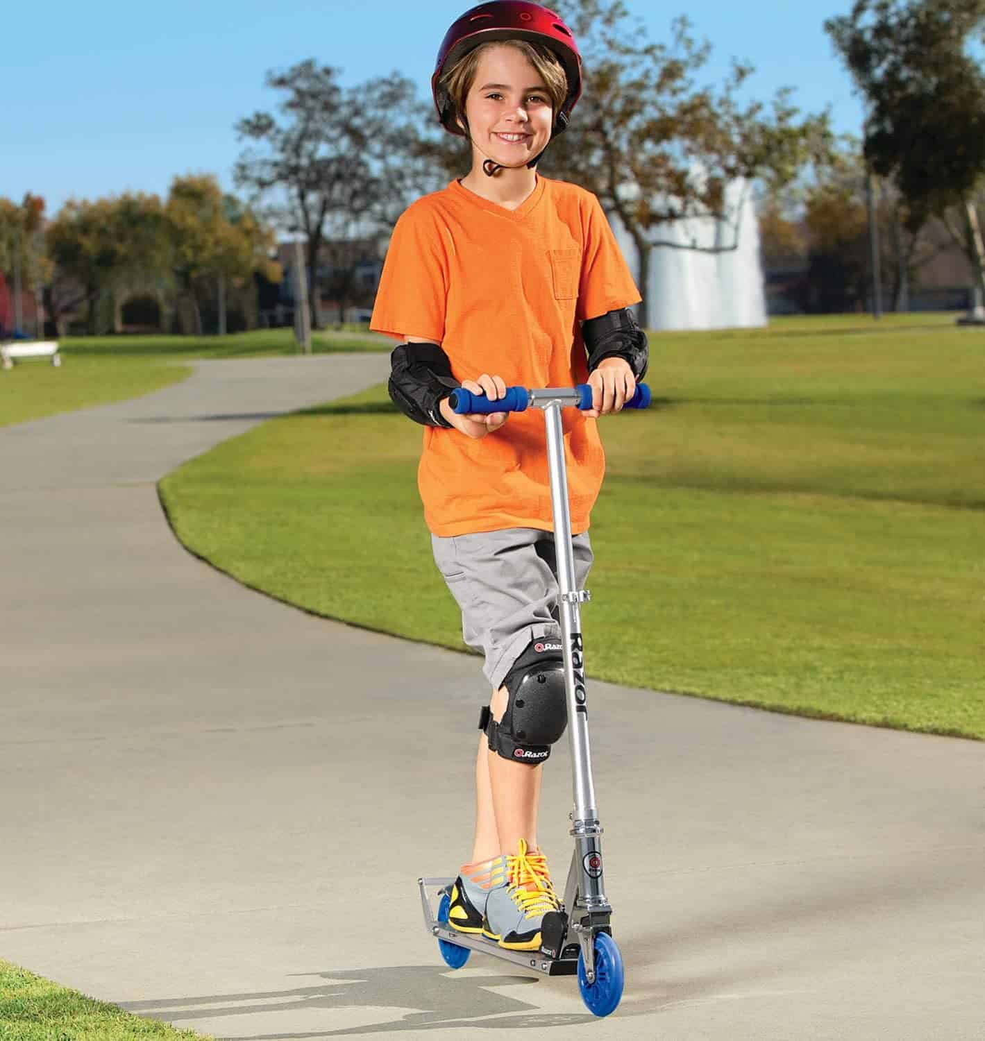 Best kids scooter for 5 year old child- Razor A3 Kick Scooter