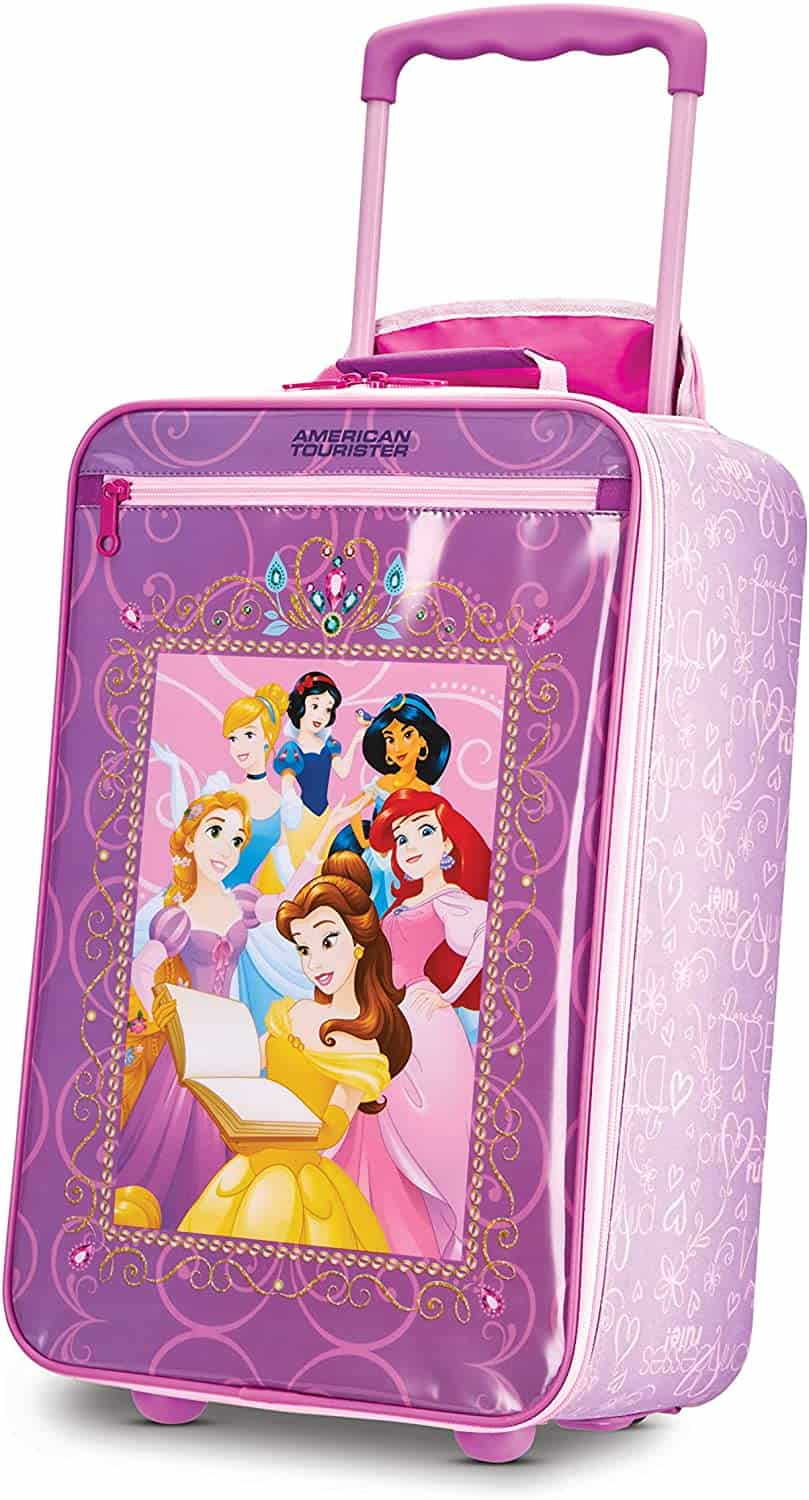 Beste koffer kind 6 jaar- American Tourister Kids Softside Disney Princess