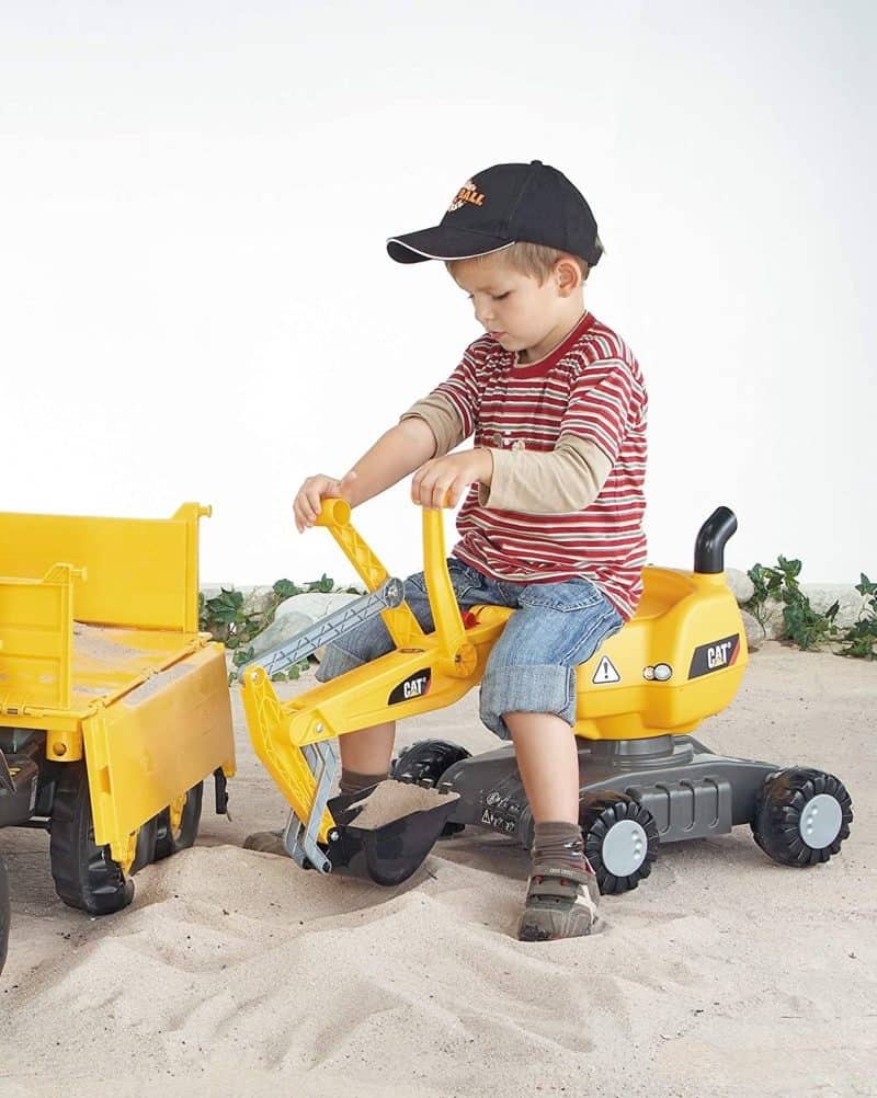 Best toy excavator you can sit on Rolly Toys Digger
