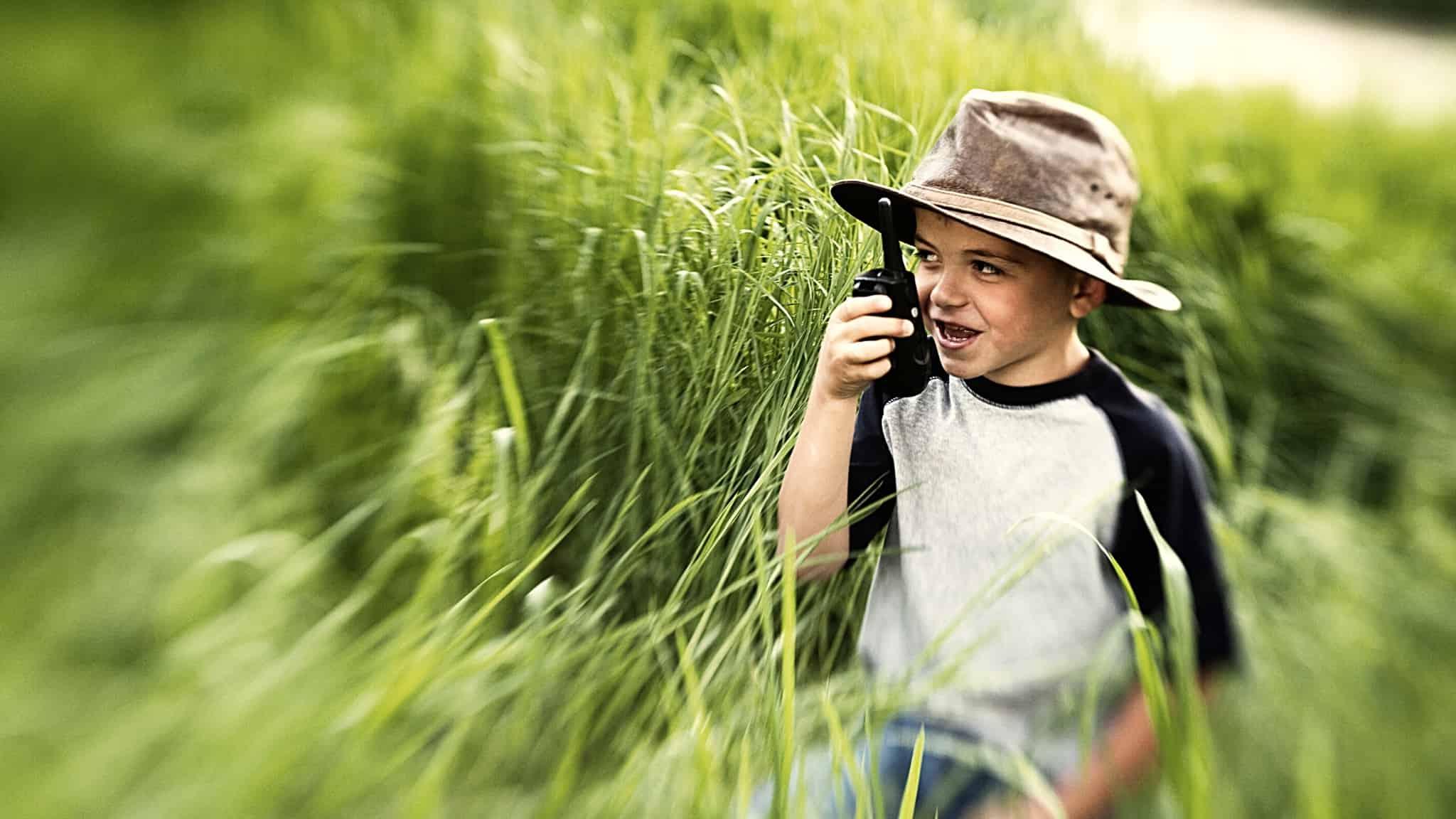 Leuke spelletjes met een walkie talkie