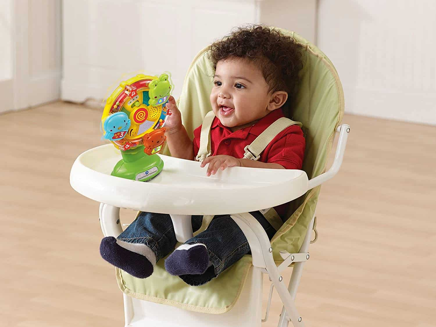 Best toys with light and sound: VTech Baby Animal Friends Ferris wheel