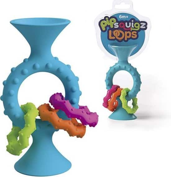 Best toys to grab easily: Fat Brain Toys Pip Squigs Loops