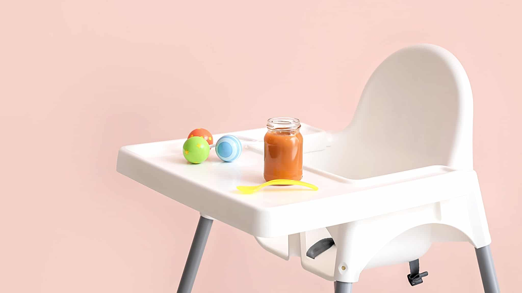 The best toys for the high chair