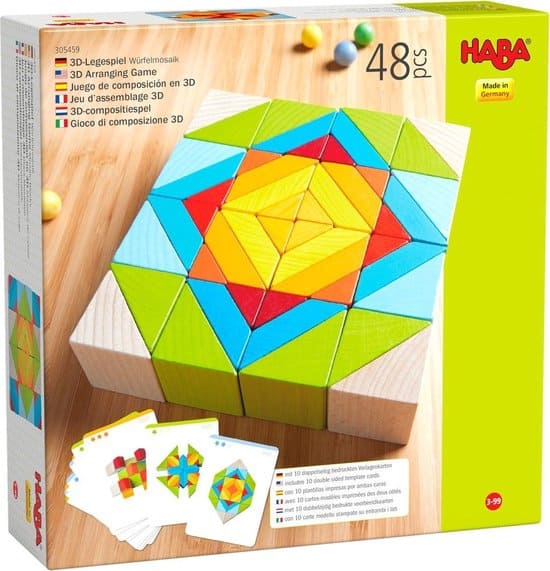 Overall the nicest Haba toys - Block mosaic 3-D
