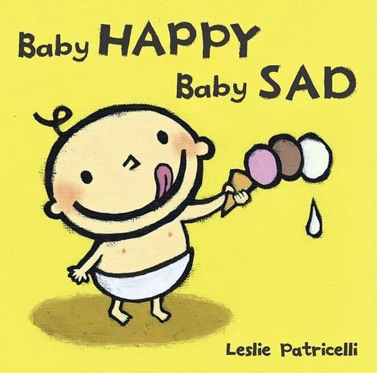 Imitate emotions with baby book