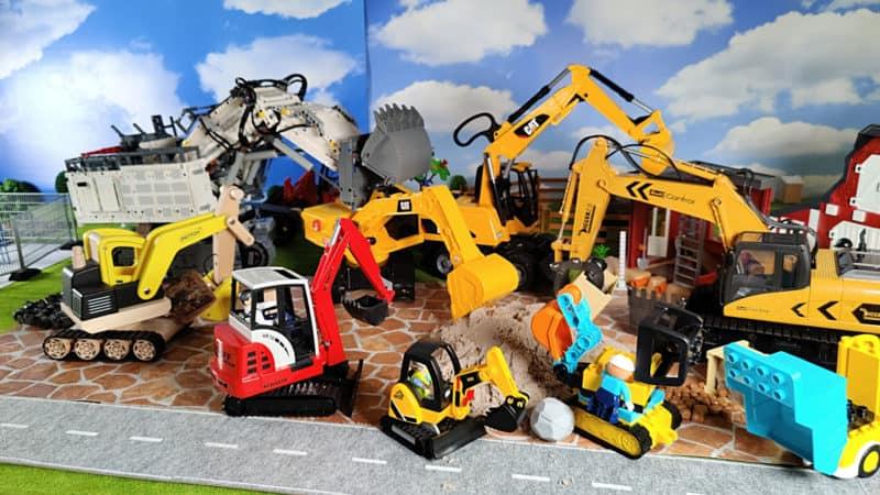 The 8 best excavators together