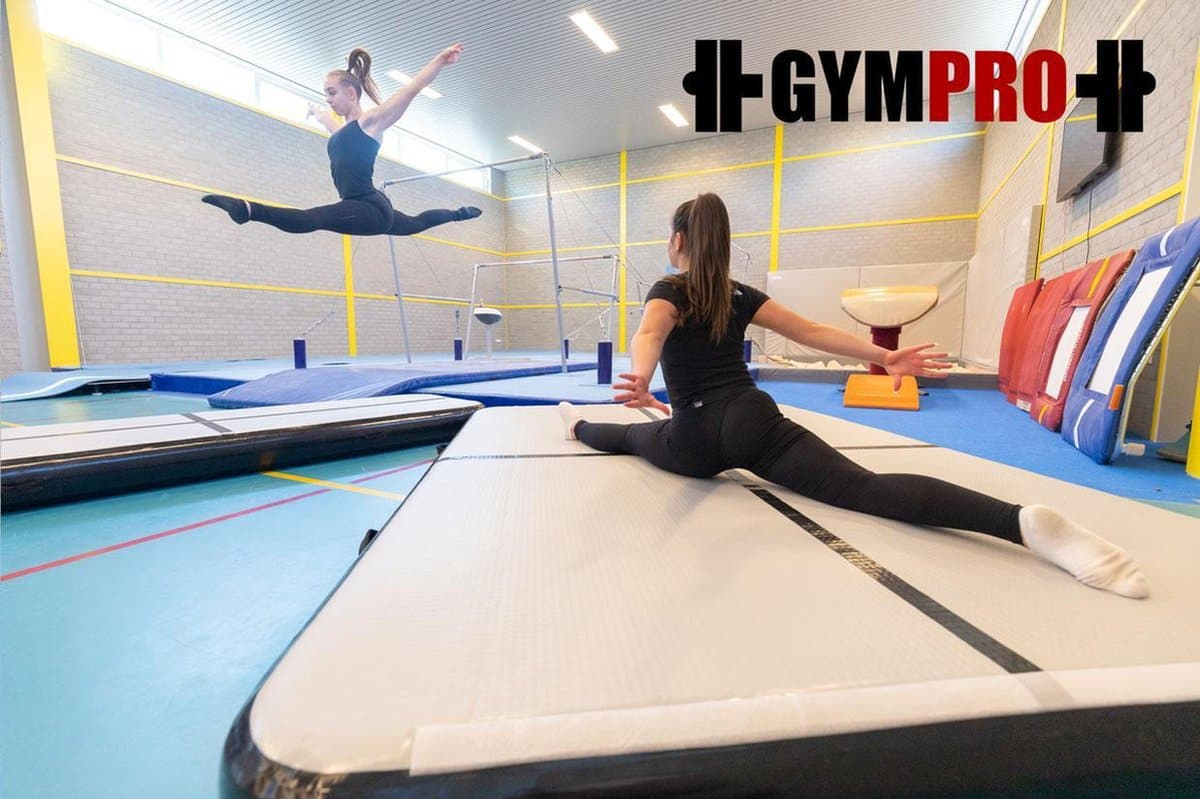 Best Thick Airtrack For Gymnastics And Flips: Pregymnastic Gympro 8 Inch