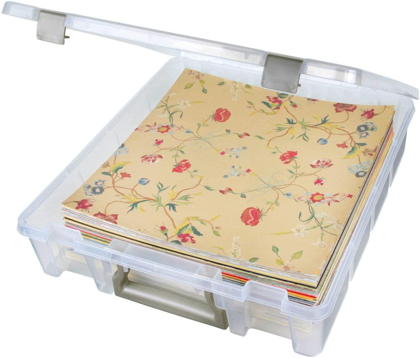 Best Storage Holiday Maletín - ArtBin Super Satchel Organizador de arte y artesanía de un solo compartimento