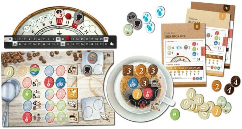 Best Board Game for 1 Person: Coffee Roaster