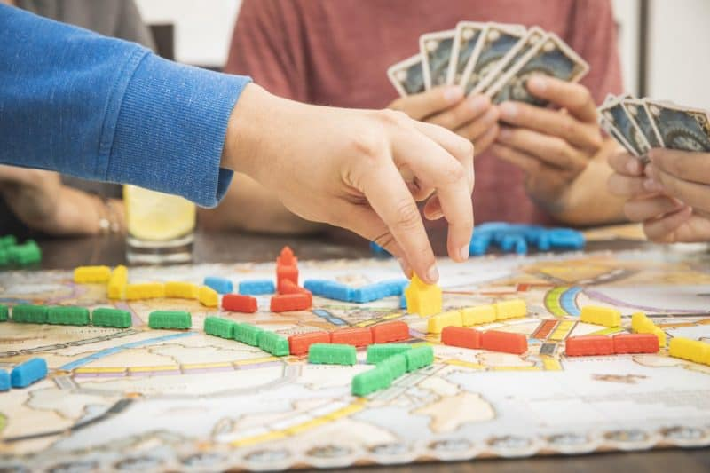 Best board game for the whole family: Ticket to Ride Europe
