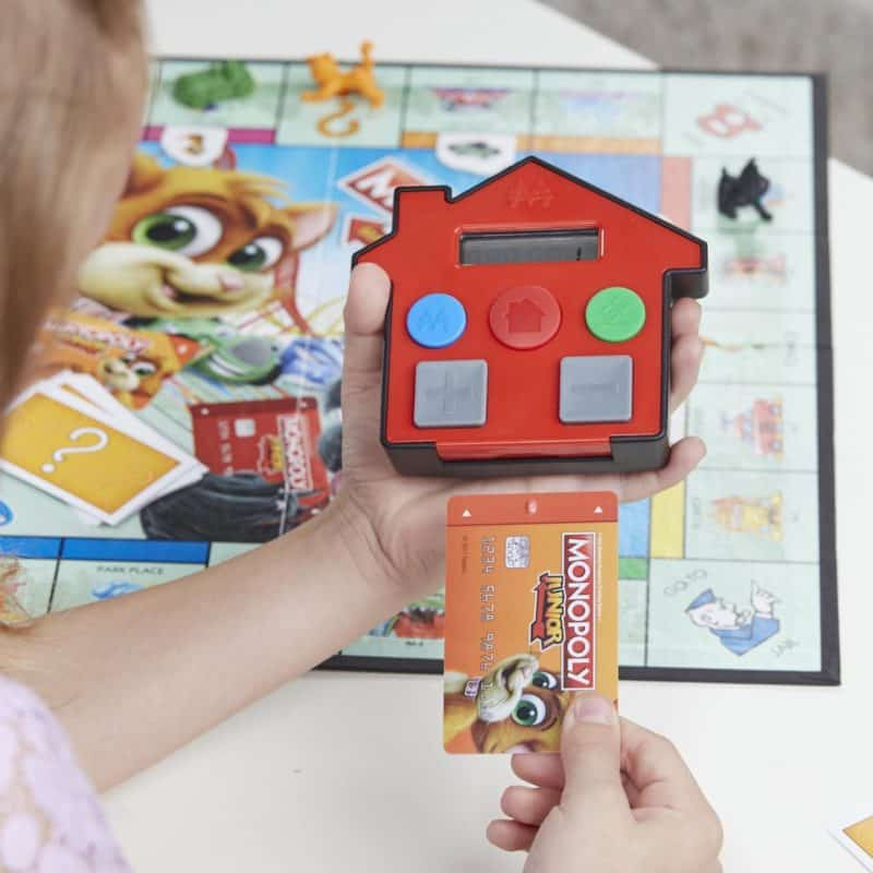 Best Electric Family Game: Monopoly Junior Electronic Banking