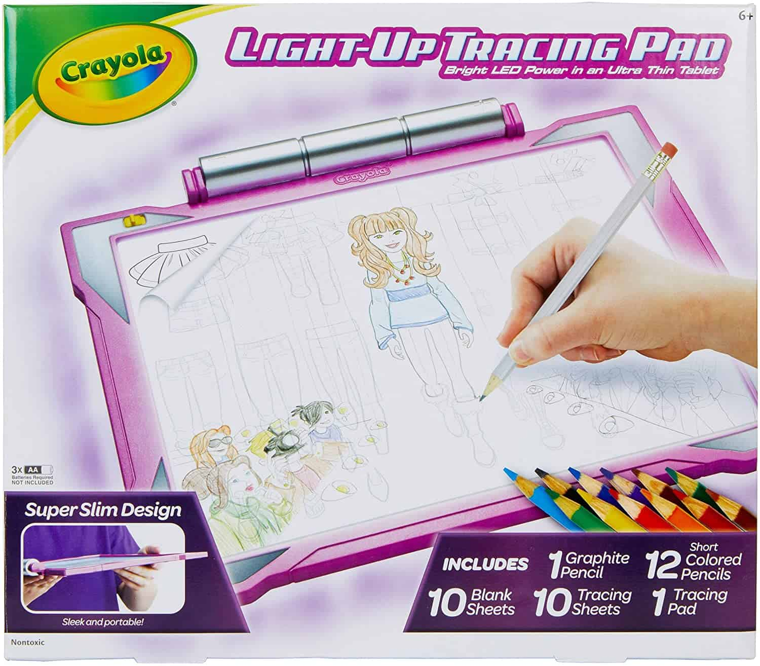 Best Electric Drawing Pad: Crayola Light Up