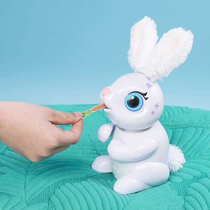 Best Cheap Interactive Animal: Zoomer Hungry Bunny