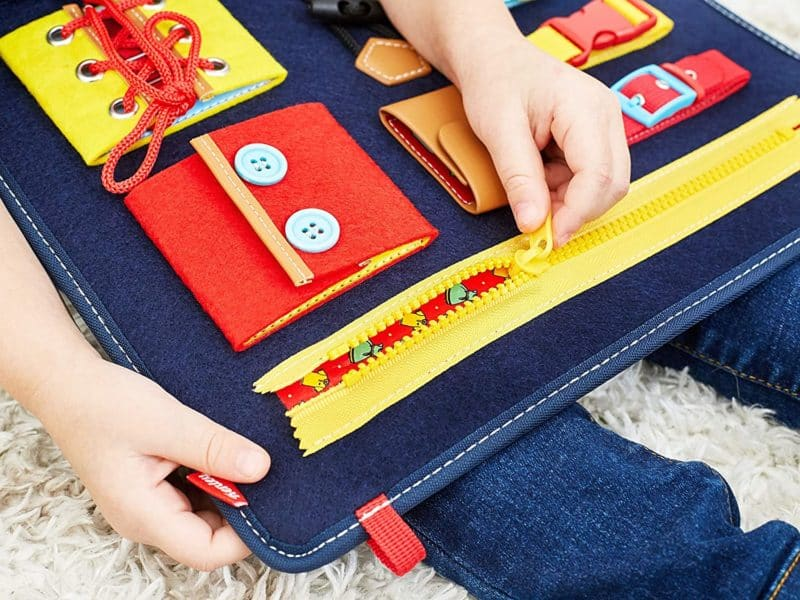 Best Car Toys for Toddler 2 Years: Kenley Activity Board