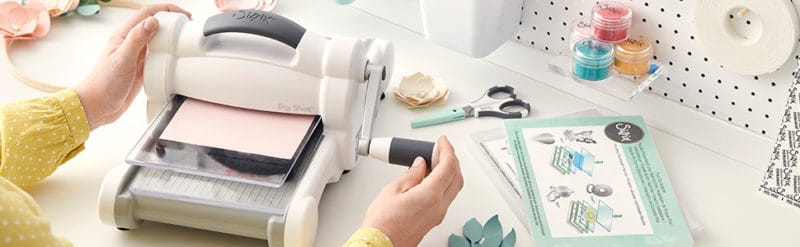 Sizzix Big Shot Plus manual slicer extensively reviewed