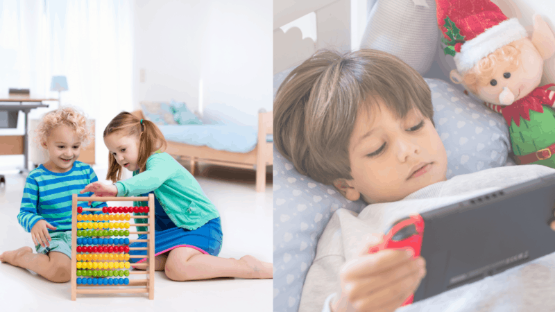 Wooden toys vs electronic toys | What do you choose for your child?